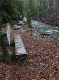 A resting place near the creek