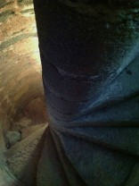Spiral stairs - Castle Templar